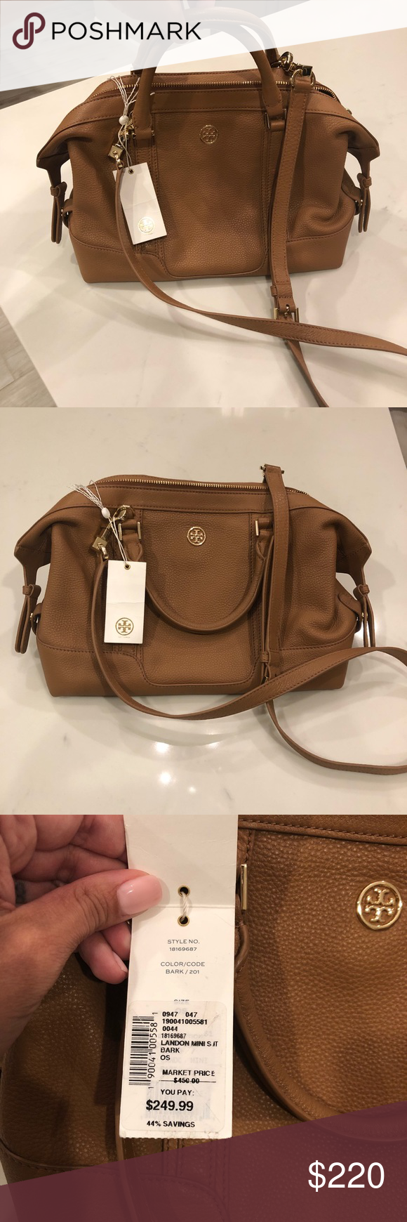 84505a77209b Tory Burch Landon mini satchel Brand new beautiful Tory Burch Landon mini  satchel. This bag is the perfect size...not too big or small.
