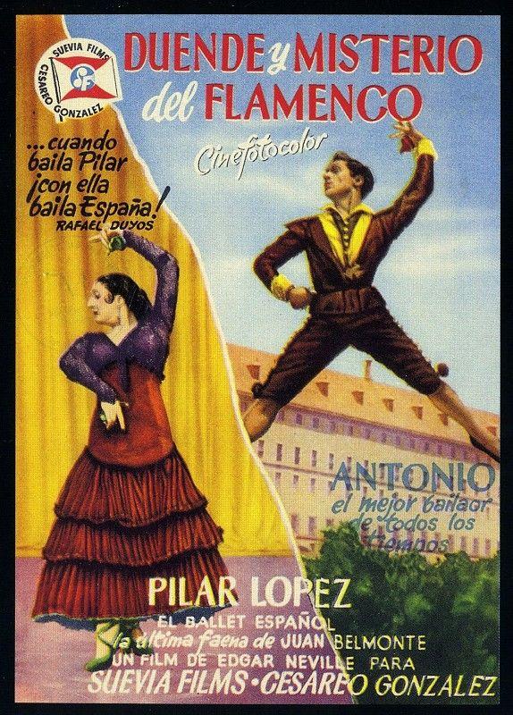 Resultado de imagen de duende y misterio del flamenco