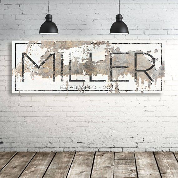 Photo of Rustic Established Signs Family Name Gift for Her Modern Farmhouse Est Sign Rustic Large Family Name Personalized Family Name Sign Wedding