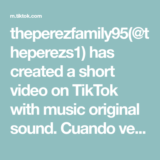 Theperezfamily95 Theperezs1 Has Created A Short Video On Tiktok With Music Original Sound Cuando Ves Mariposa De Barrio In 2021 Fun Easy Glasser Amazing Life Hacks