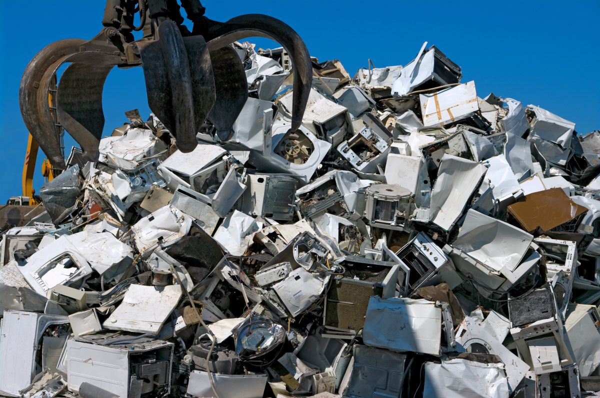 It's Earth Day Toss your old appliances the right way