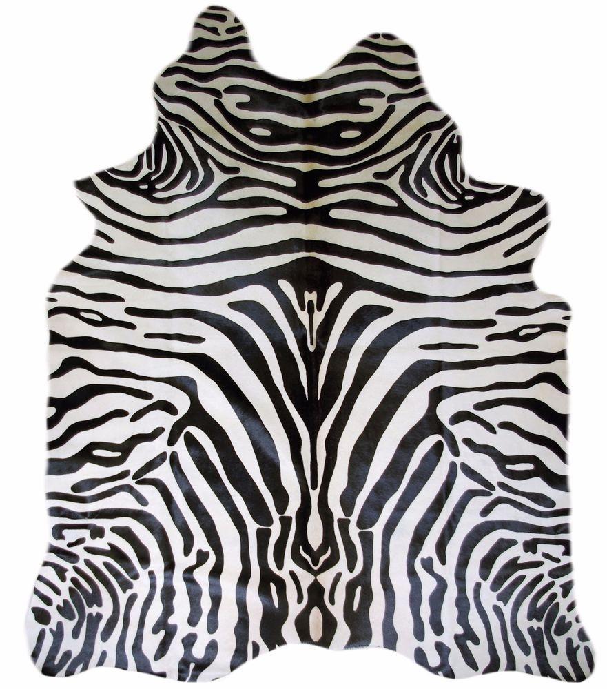 kuhfell teppich zebra fabulous luxus stierfell kuhfell. Black Bedroom Furniture Sets. Home Design Ideas