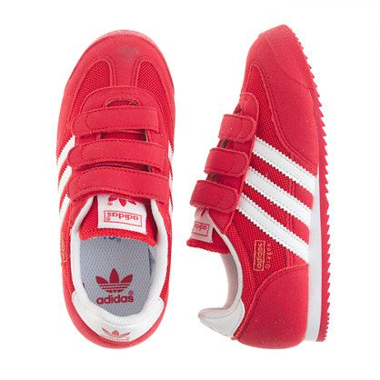 ecd0b18037e9 J.Crew - Kids  Adidas® Dragon sneakers in red and white