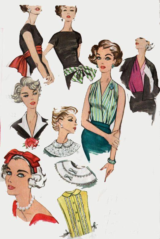 Vintage 50er Jahre nähen Muster Einfachheit 2779 von sandritocat ...