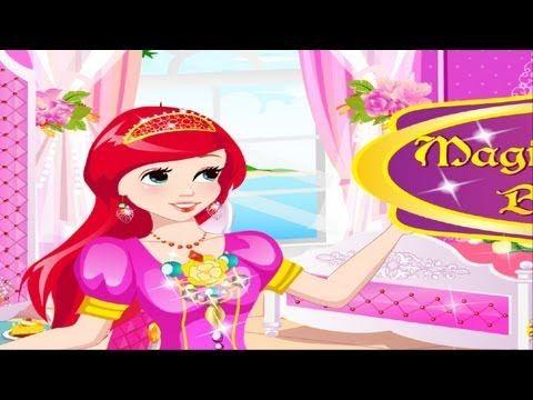 Magic Princess Bedroom For Little Kids Gameplay Online Free Princess Little Kids Kids