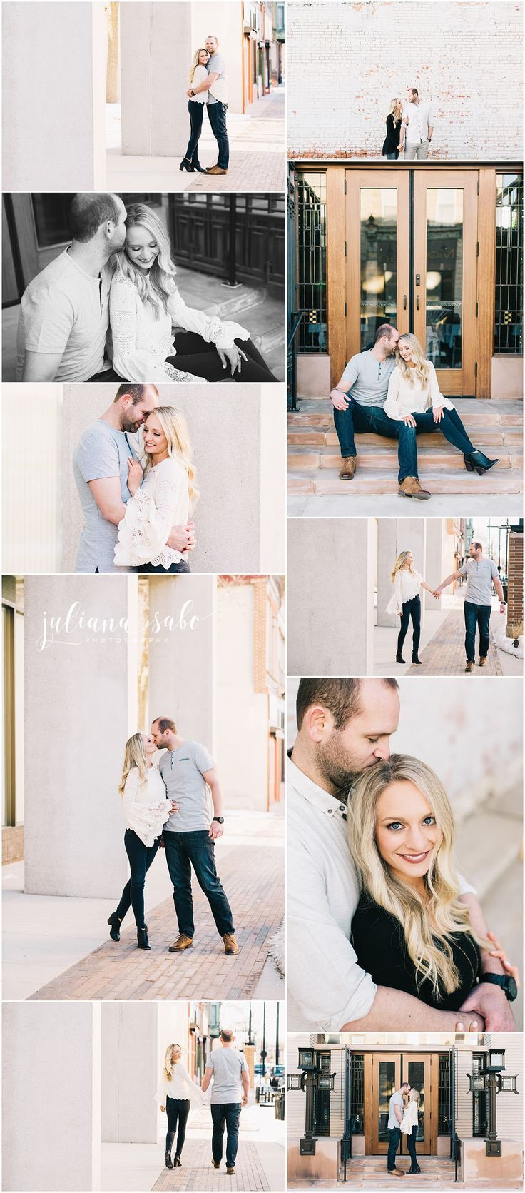 Urban Engagement Session   Downtown Engagement Photos   Iowa Engagement   Downto...#downto #downtown #engagement #iowa #photos #session #urban