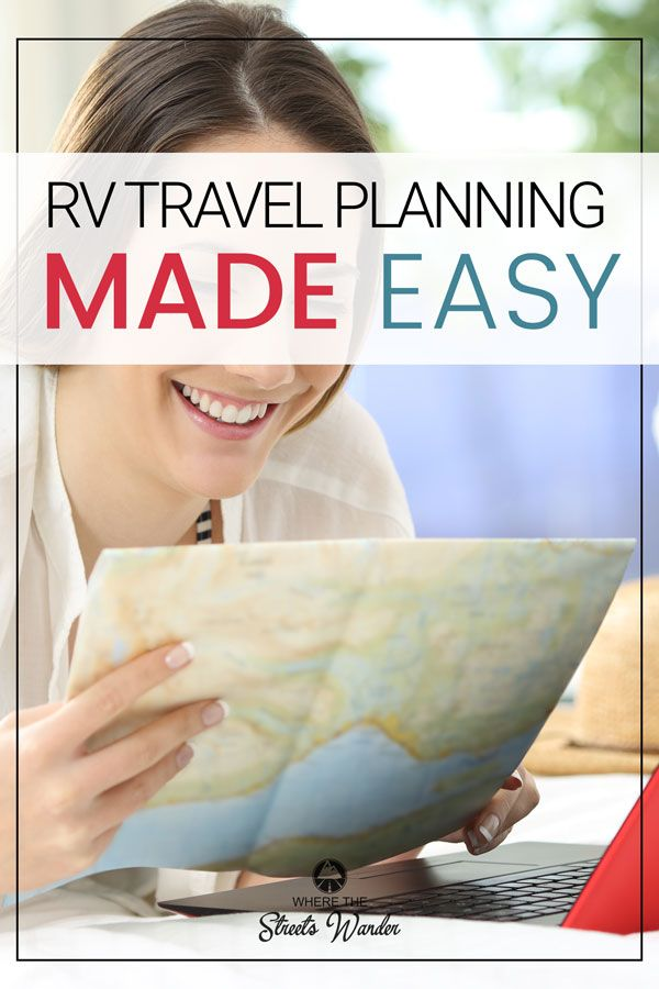 rv travel planning made easy rv travel rv and travel planner