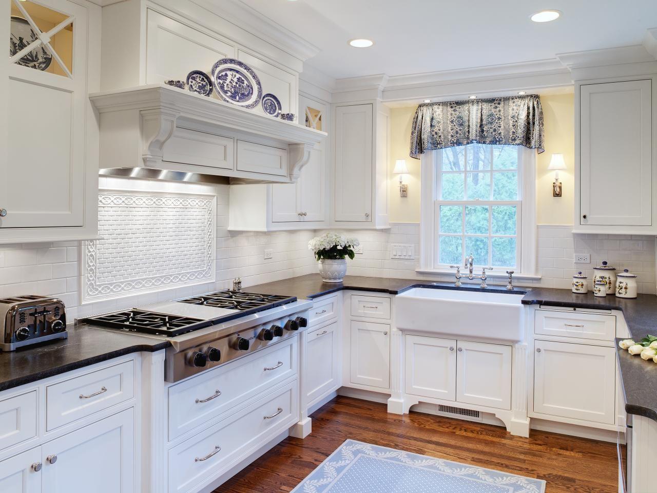 beige black white wood kitchen diner country kitchens pinterest ...