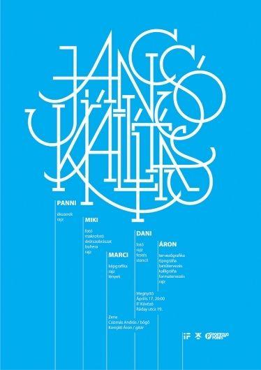 All sizes | jancsó kiállítás / exhibition poster | Flickr - Photo Sharing!