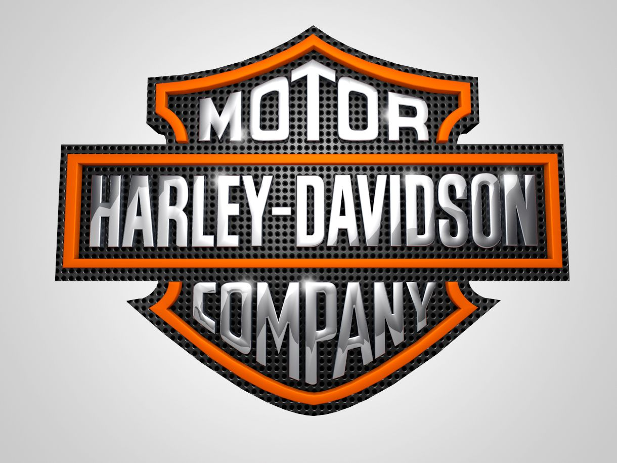 harley davidson 3d logo experiment harley davidson logos in 3d