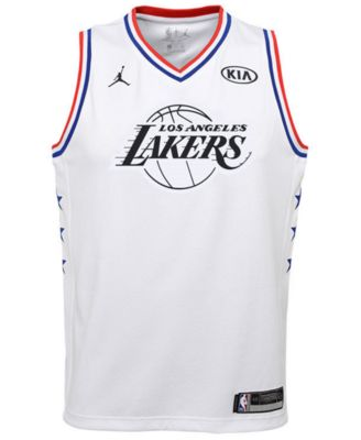 quality design 36fbf a6407 Big Boys Lebron James Los Angeles Lakers All Star Swingman ...