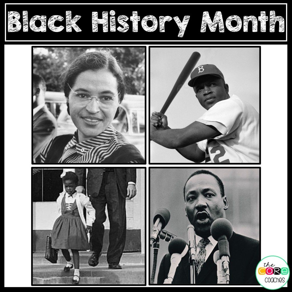 Black History Martin Luther King Jr Ruby Bridges Rosa