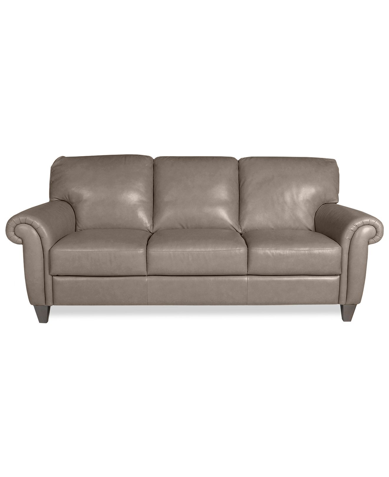 Arianna Leather Sofa Couches Sofas Furniture Macy S