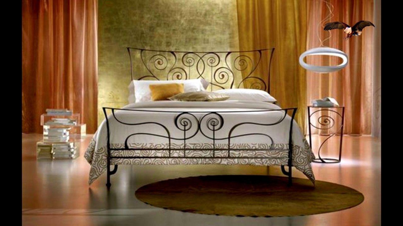 Decoración Para La Casa Con Hierro Forjado Dormitorio