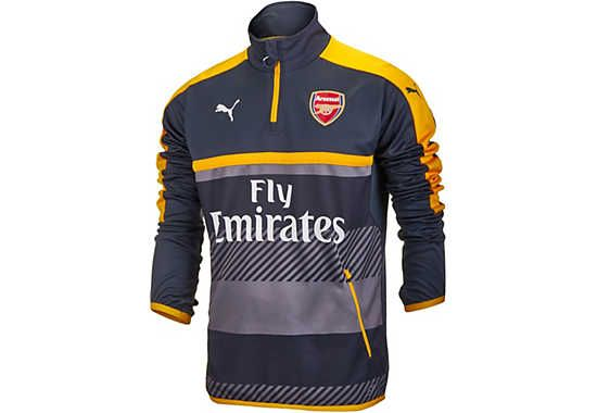 Puma Arsenal 1 4 Zip Training Top. Available right now at SoccerPro ... fbc6fa36a