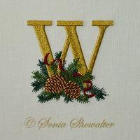 Winter Pines- W