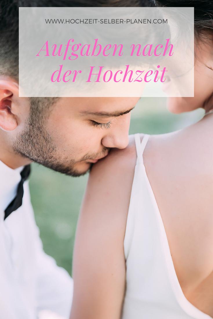 Aufgaben Nach Der Hochzeit Hochzeit Namensanderung Hochzeit Checkliste Hochzeit