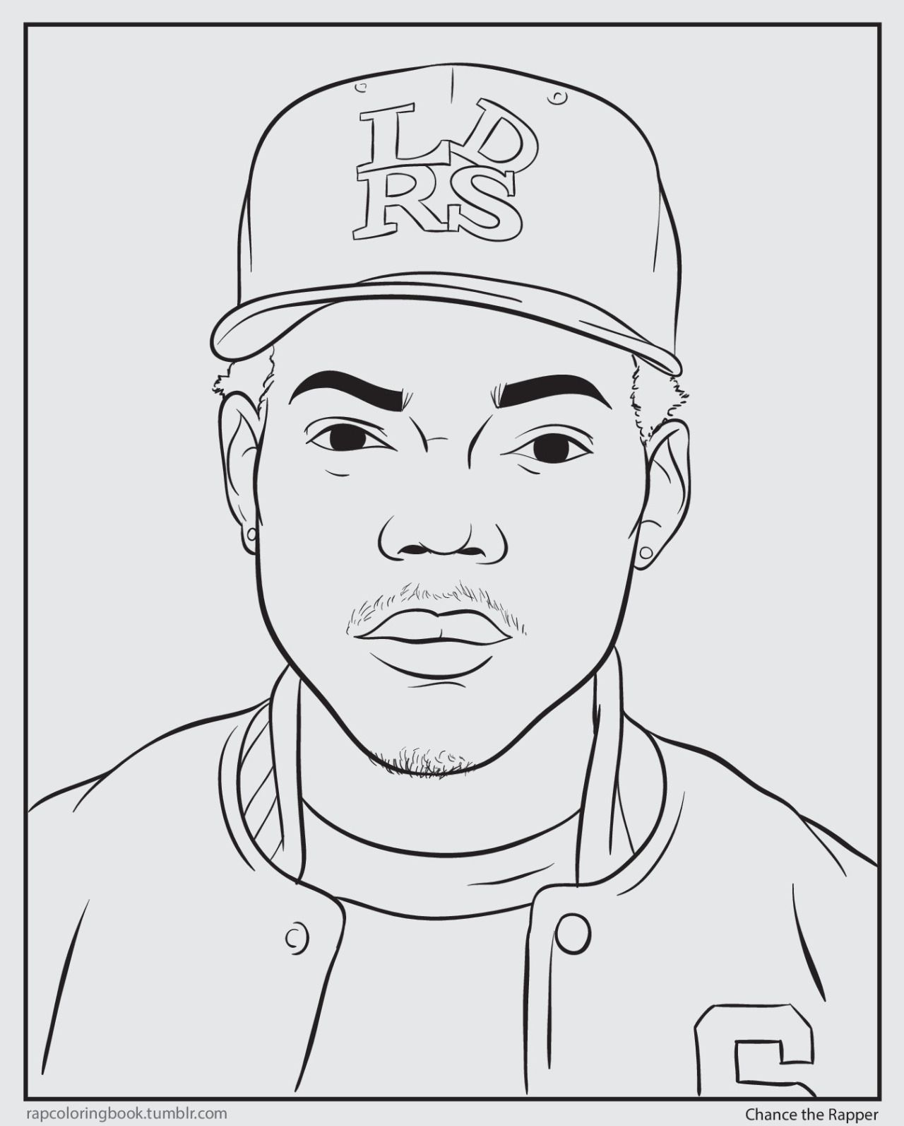 Bun B S Jumbo Coloring And Rap Activity Tumblr Click Here To Download The Chance The Rapper Coloring Book Chance Coloring Books Coloring Book Download