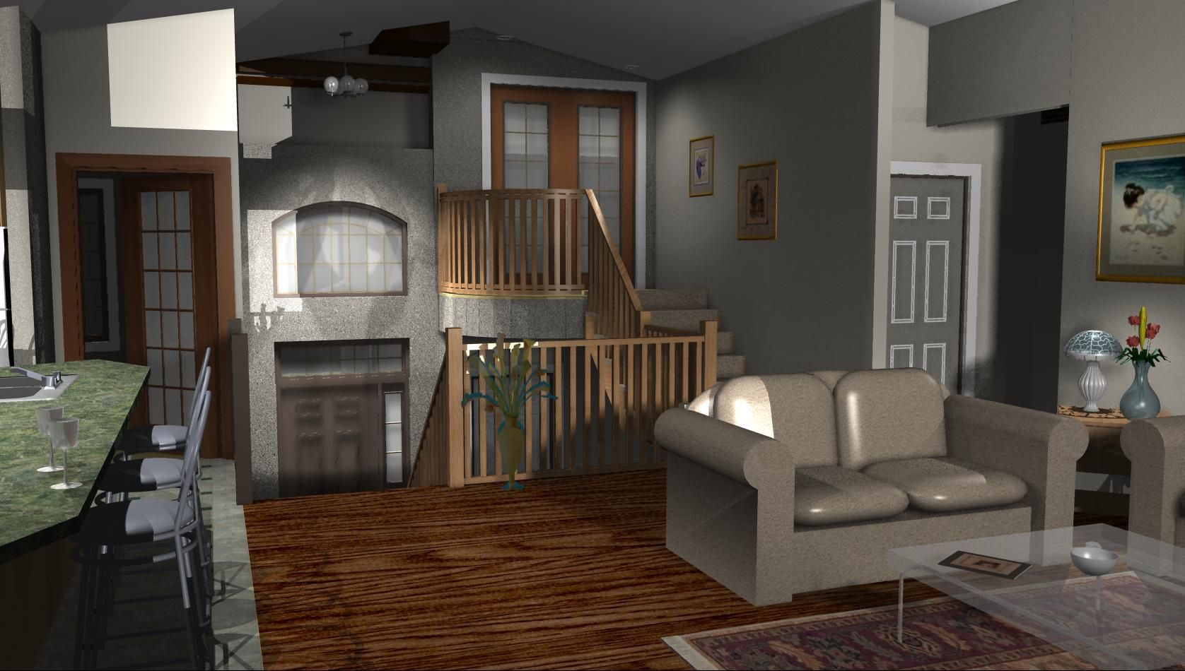 Split Level Addition Over Garage Home Entrance Decor Split Level Floor Plans Bi Level Homes