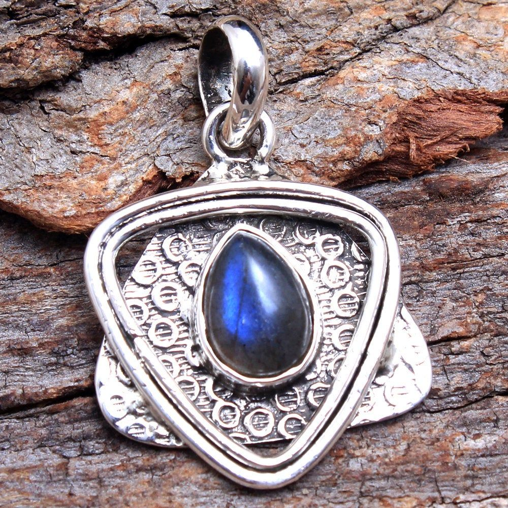 ap2700 925 Sterling Silver Handmade Designer Pendant Length 1.5 Mother/'s Day Collection Sale Oval Turquoise Gemstone Amazing Pendant