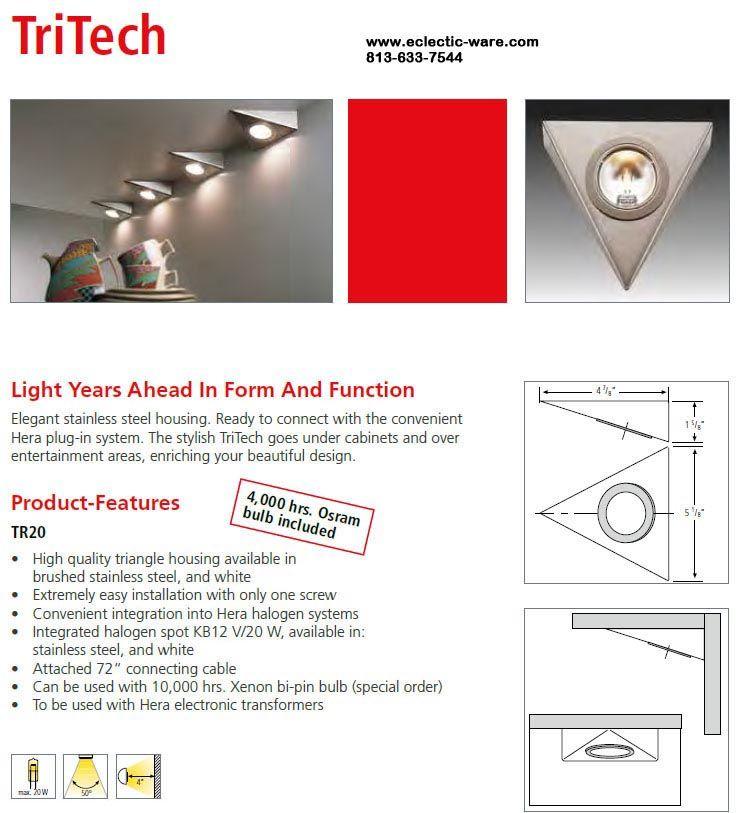 Hera Lighting Tr20ss Tritech Decorative