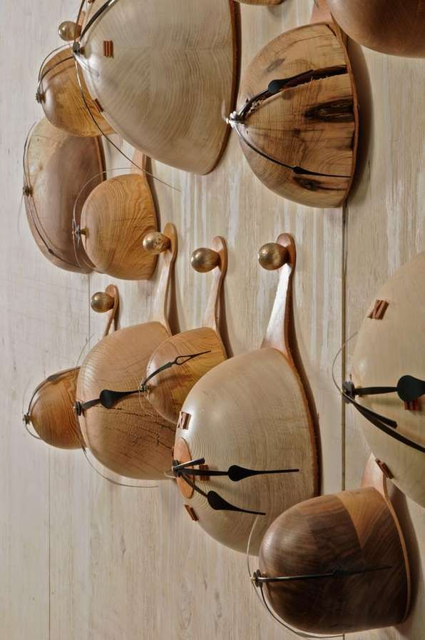 Wondrous Wooden Furniture : Palo Samko. Clock ...