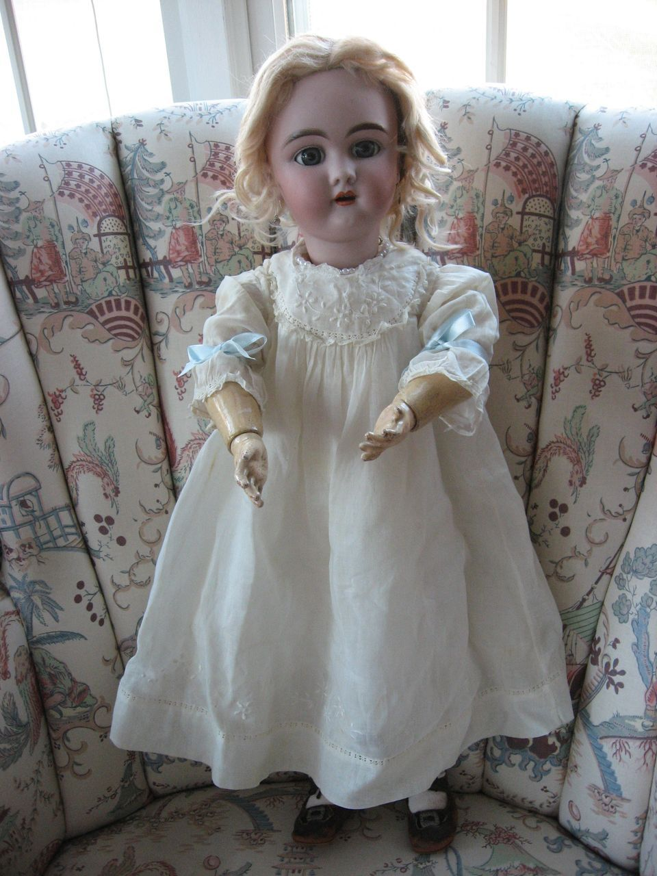 """Lovely 22"""" Handwerck """"109"""" Blonde - Mohair Wig - Vintage Clothes - from darlingdollsandcollectibles on Ruby Lane"""