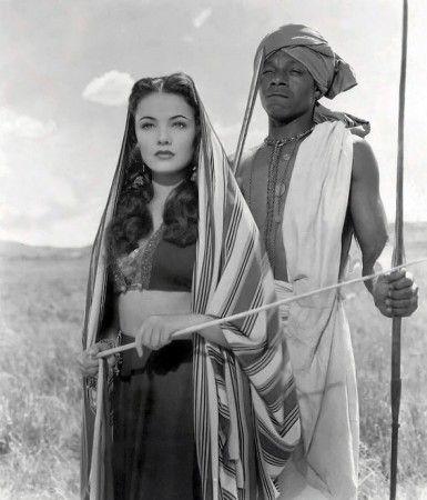 """Gene Tierney in """"Sundown"""" (1941)"""