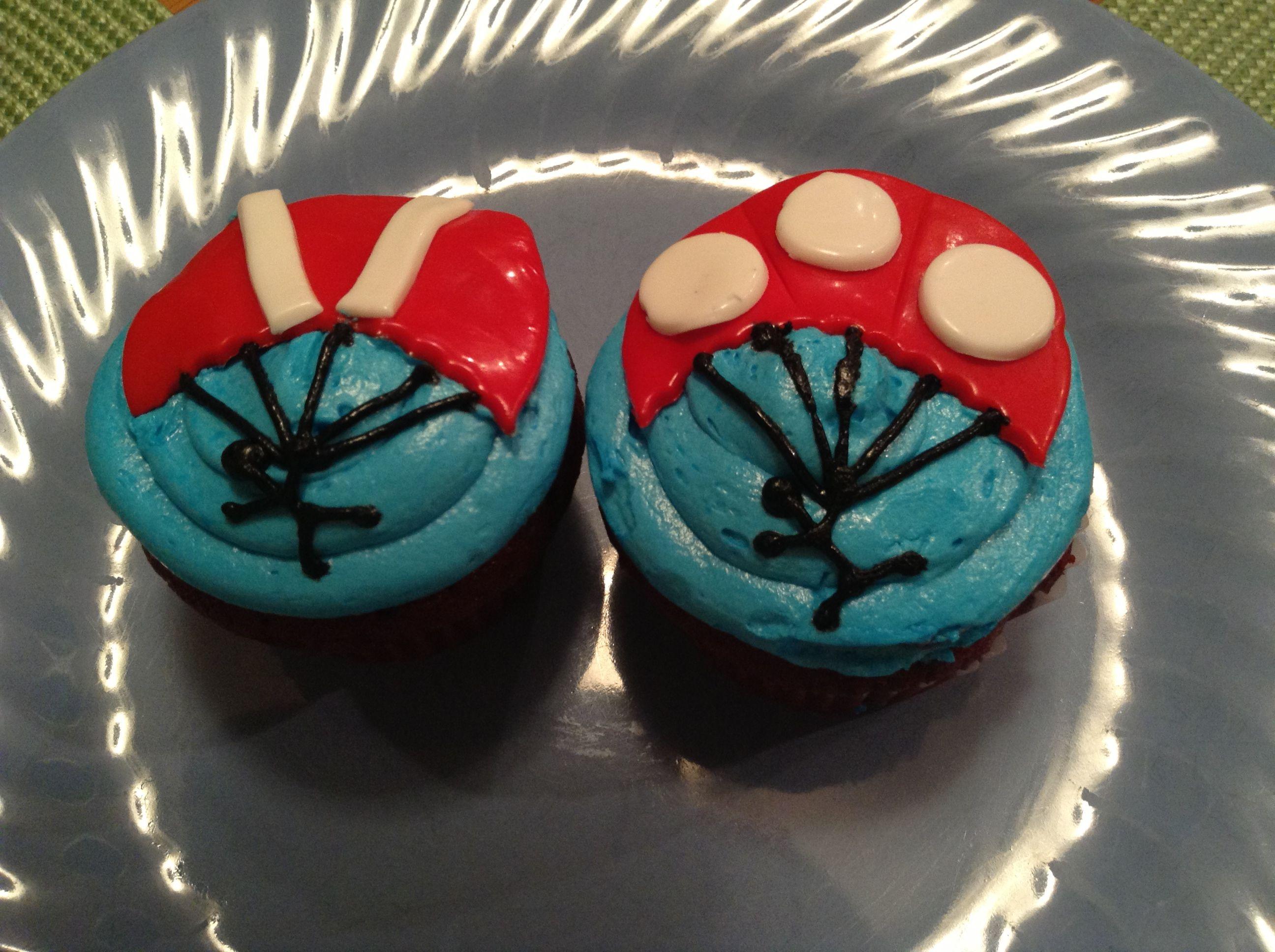 Parachute Red Velvet Cupcake