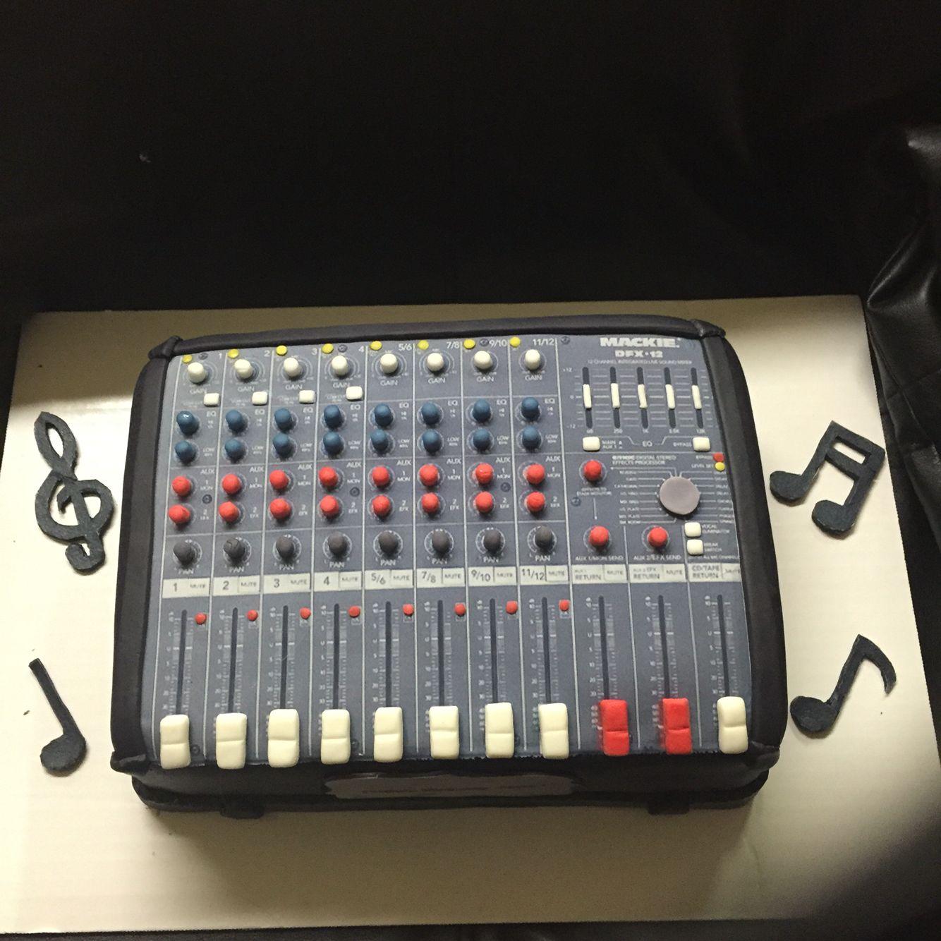 soundboard cake cakes by belinda pinterest cake