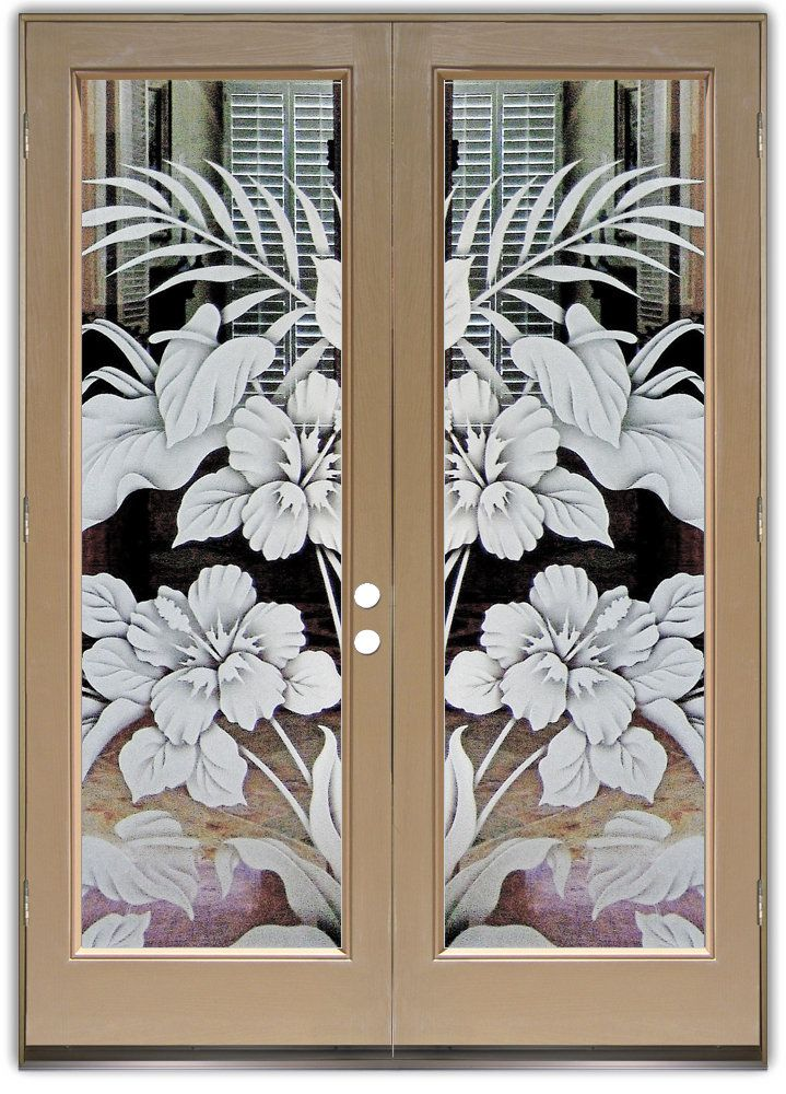 Exterior: Hibiscus & Cala Lilies 2D