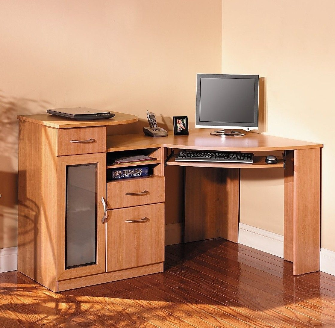 Corner desk is needed in both home and office because it can