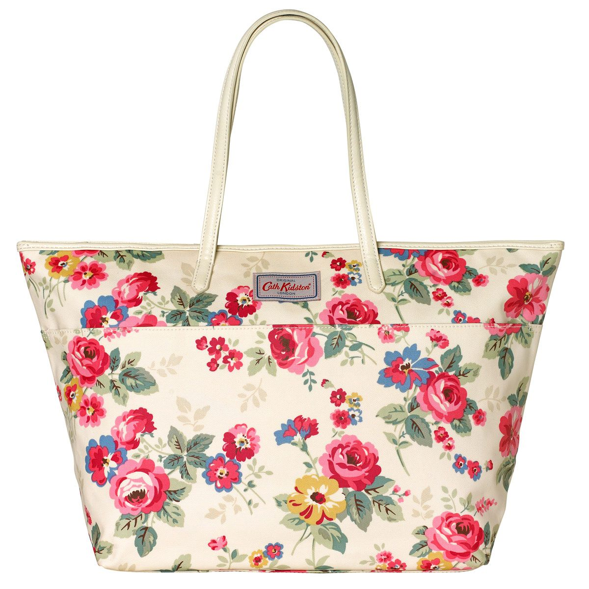 Clarendon rose large trimmed tote cath kidston my dream clarendon rose large trimmed tote cath kidston doublecrazyfo Images