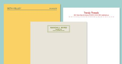 Image Result For Personal Letterhead  Letterhead Ideas