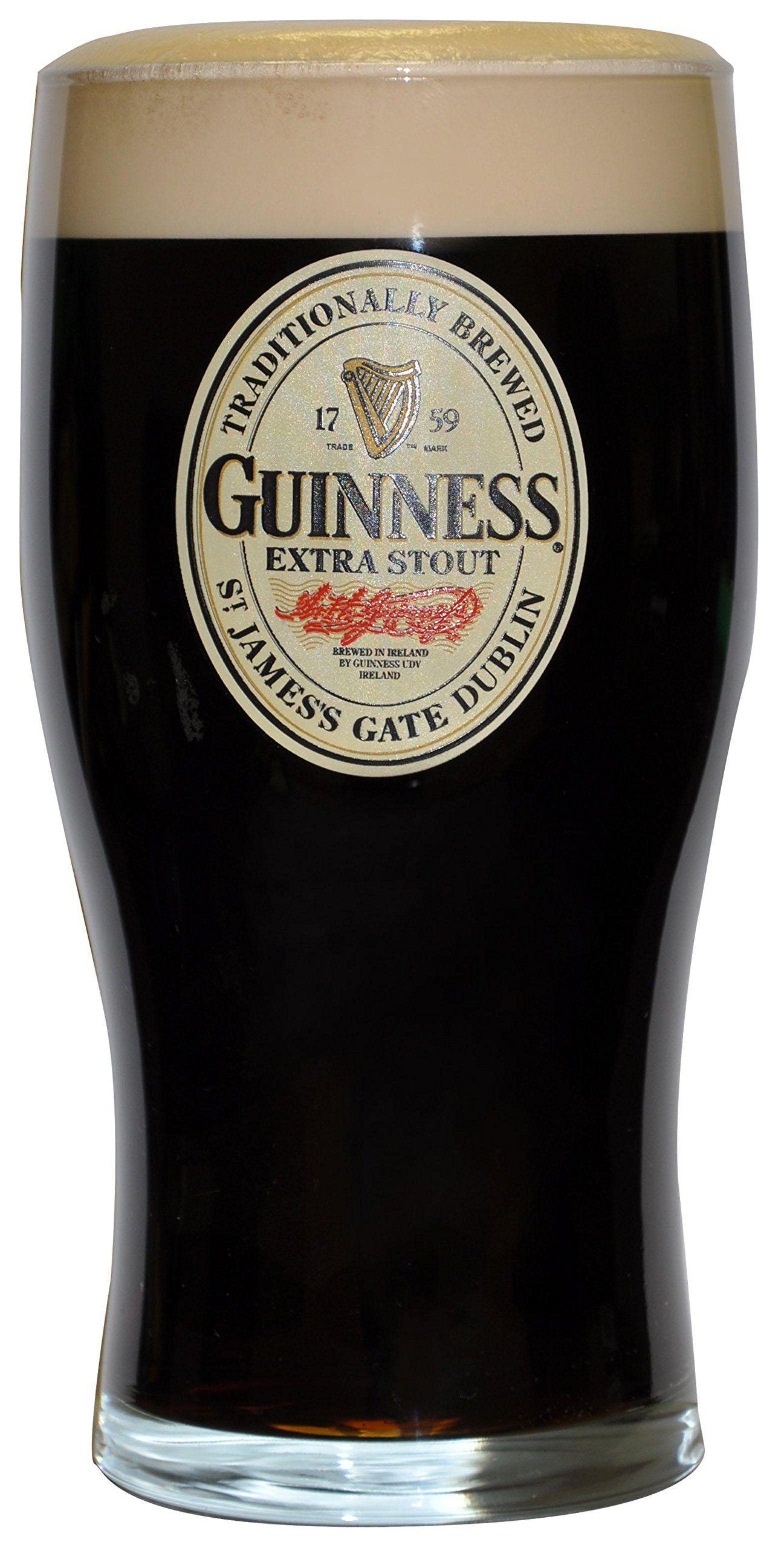 Guinness Oval Label 20oz Pint Glass Best juicer machine
