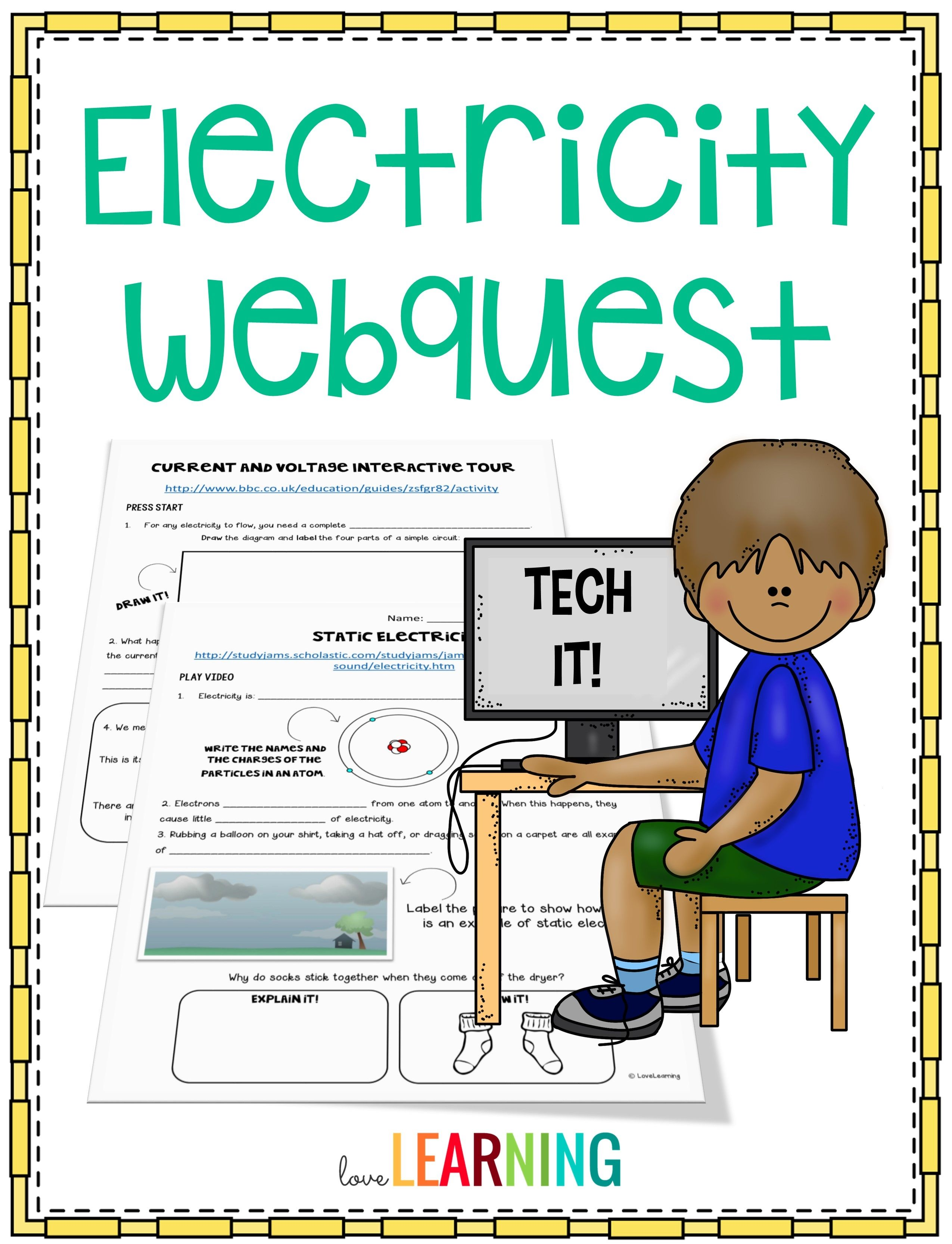 Electricity Webquest