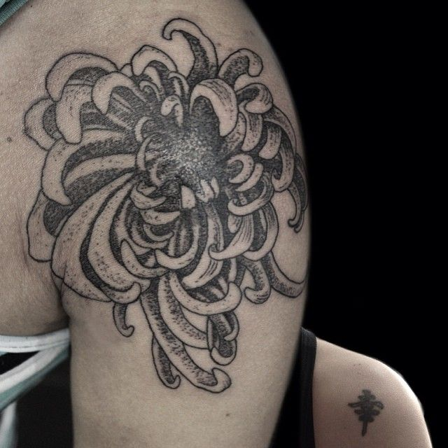 Some chrysanthemums cover up I did. Thanks for looking! Cobertura com crisântemo. Obrigado por olhar!