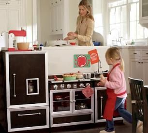 Adorable Play Kitchen Sets On Sale At Pottery Barn Kids Babies