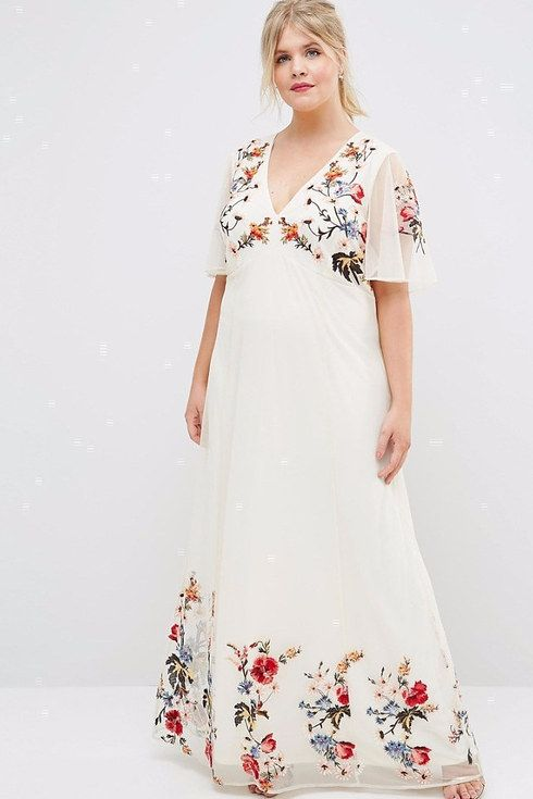 17 Alternative Plus-Size Wedding Dresses You Can Actually Wear Again ...