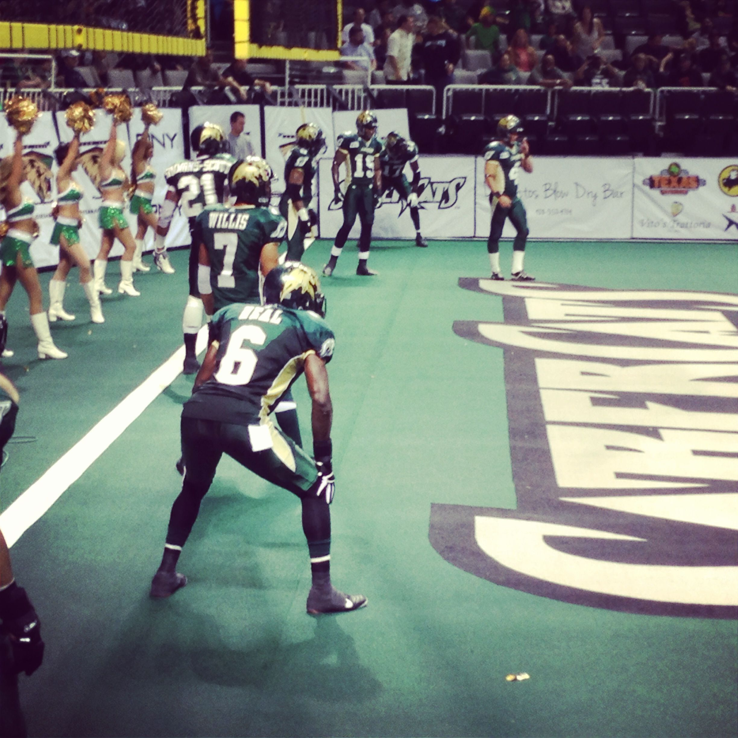 Sabercats Preparing To Kick Off To The Blaze At The End Of The Third Quarter Just After A Jason Willis Touchdown Arena Football Football Team Willis