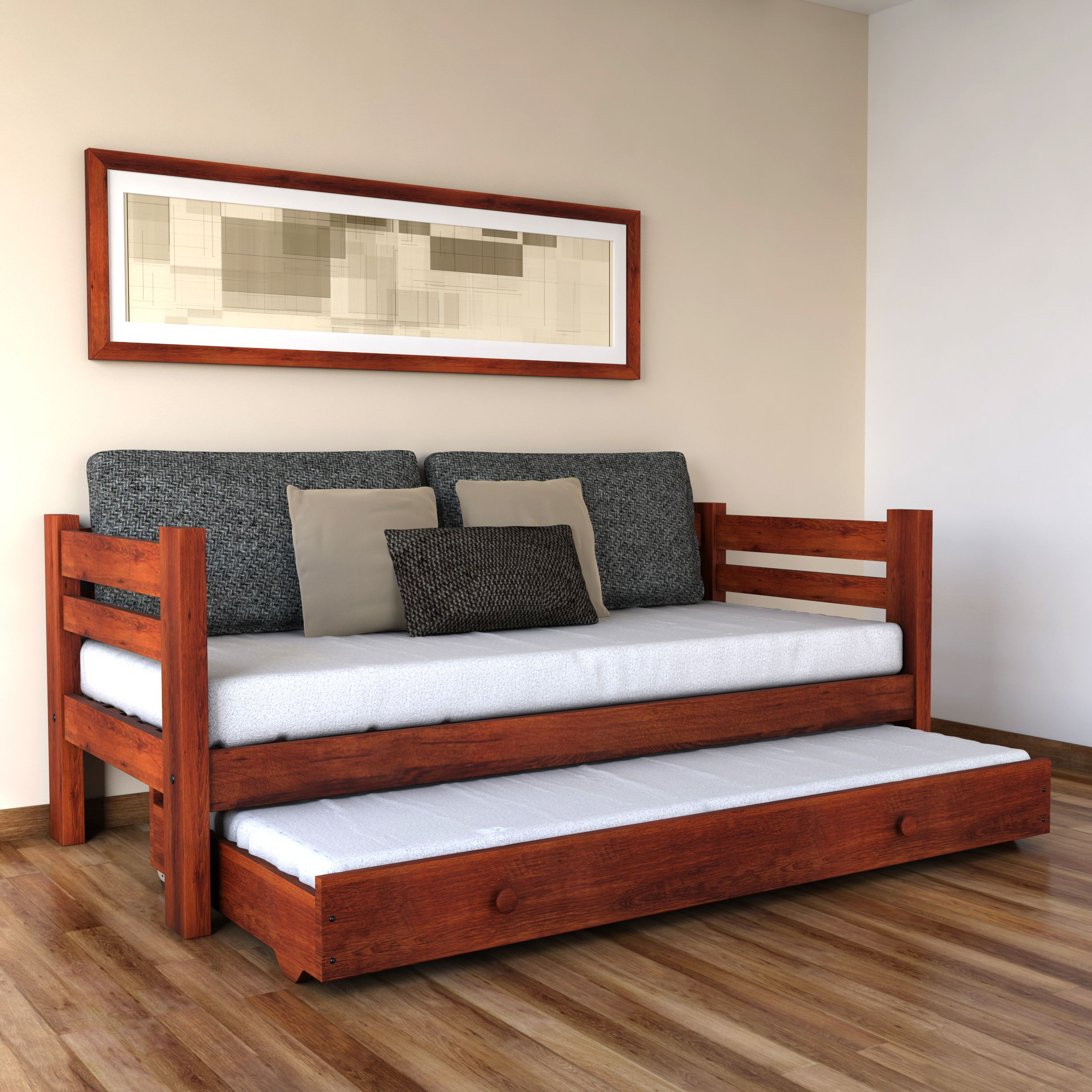 DIVAN CAMA CON CARRO MAKENNA PACIFICO | Furniture & Interior ...