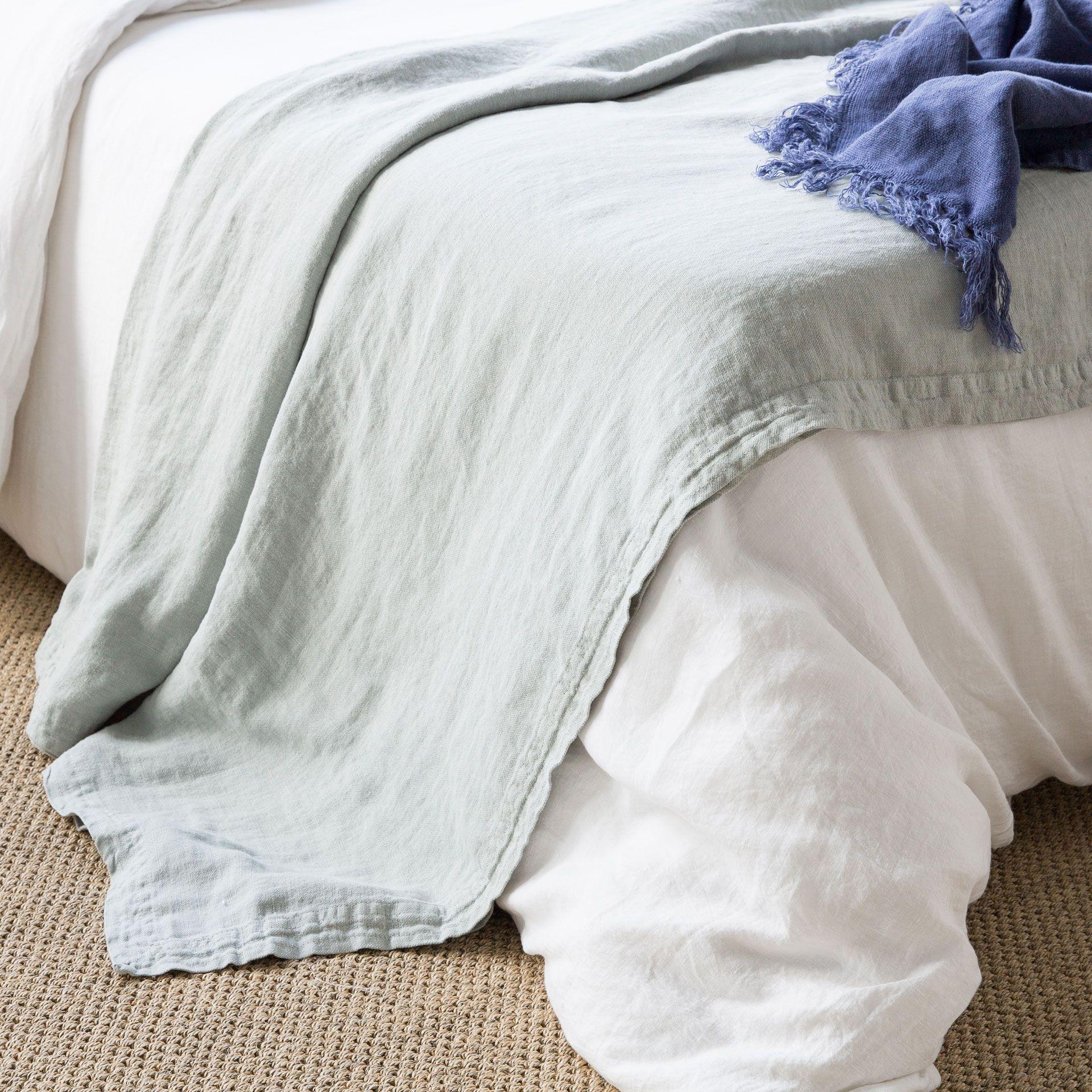 Voorkeur VERWASSEN LINNEN SPREI | Ideeën voor het huis - Slaapkamer, Zara #IC83