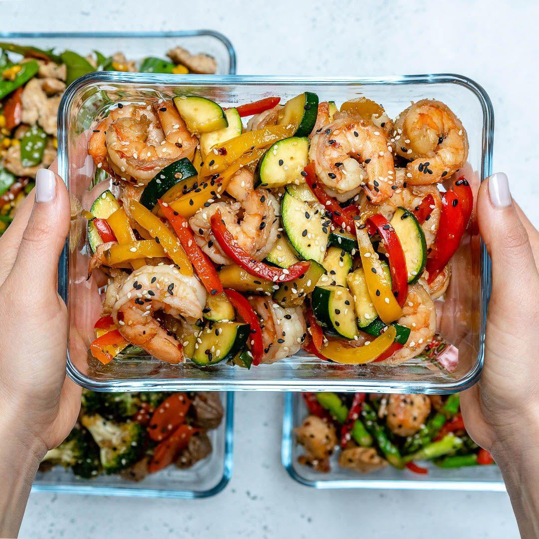 Super-Easy Shrimp Stir-Fry for Clean Eating Meal Prep!