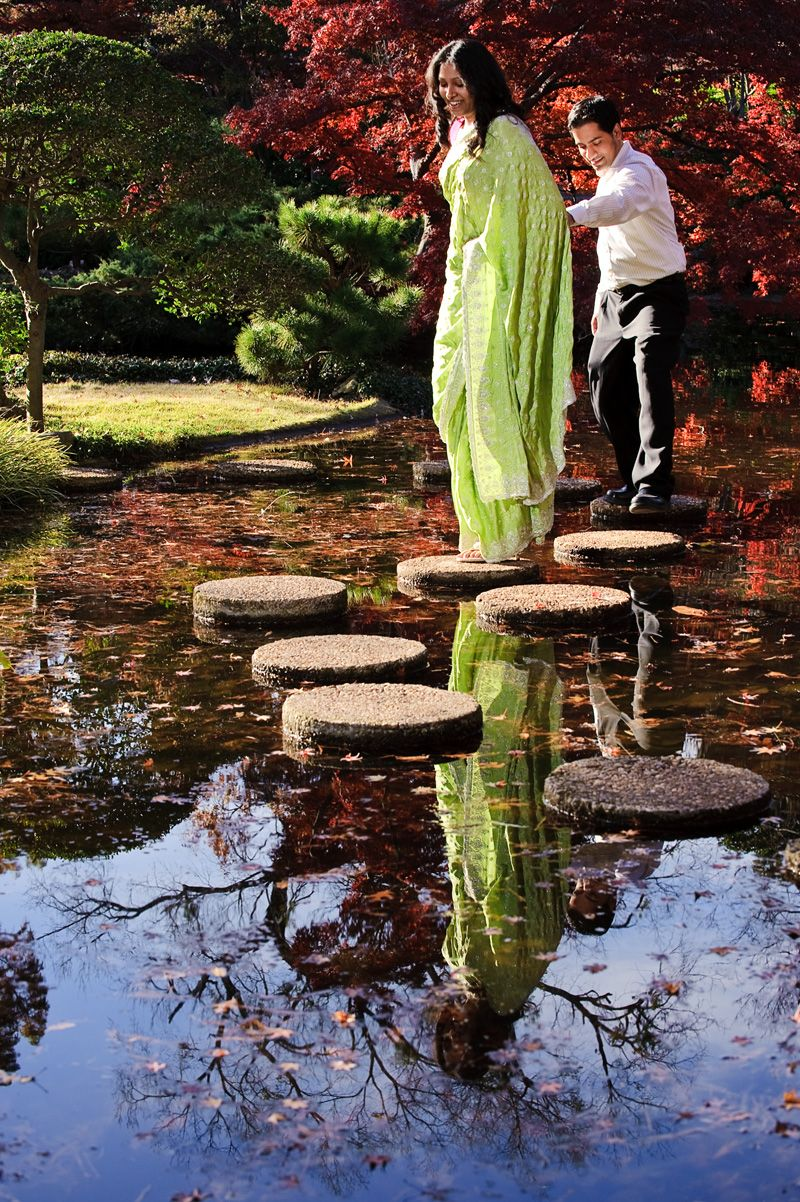 Engagement : Fort worth : Japanese Gardens : Background : Indian ...