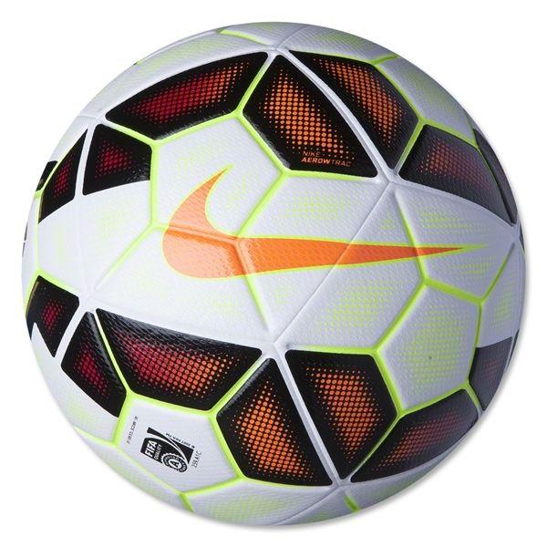 Nike Ordem 2 LFP Soccer Ball (White/Black/Total Orange) #Soccer #Ball #Nike