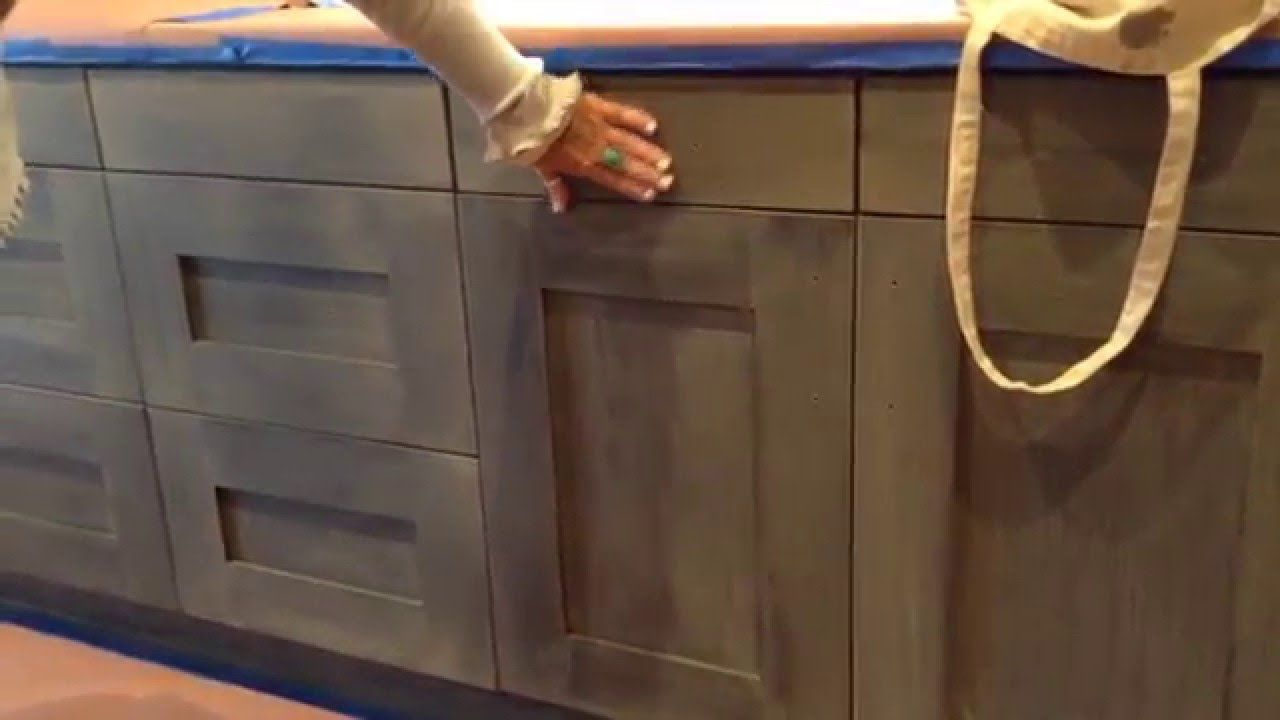 Best Weathered Wood Kitchen Finish In A Brand New Home Watch 400 x 300