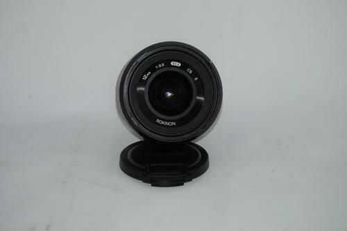 Rokinon 12mm F2.0 NCS CS Ultra Wide Angle Lens Sony E-Mount NEX Black (RK12M-E) #wideangle