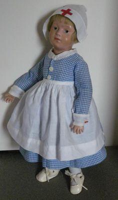 Schoenhut Character Girl Nurse doll