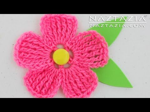 Diy Learn How To Crochet A Beginner Easy Flower Rose Bouquet