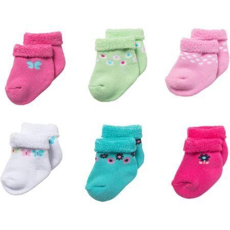 Girls Bootie Socks Toddler New Baby Booties Sock Cute Gift Idea for Newborns